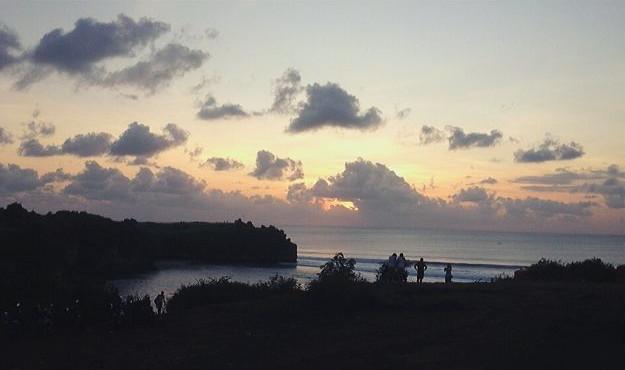 Sunset at Balangan Beach