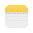 Digital Nomad Tools list - Apple Notes icon