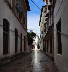 A Digital Nomad's Guide to Zanzibar - One of the many narrow allies of stone town