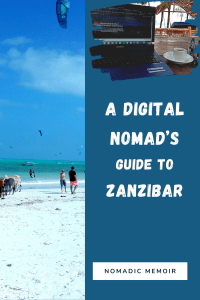White sand beaches, crystal clear ocean water & warm tropical weather. All that you need to know about Zanzibar from a Digital Nomad's perspective.
