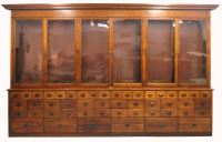 WE LOVE OUR GENERAL STORE AND APOTHECARY CABINETS