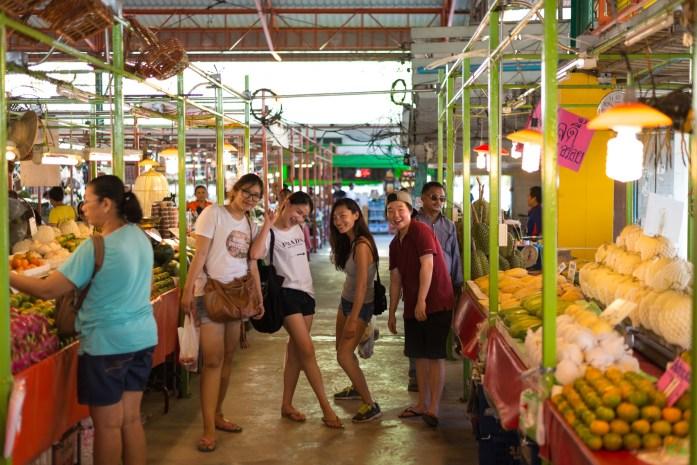 thailand, bangkok, fresh, fruit, market