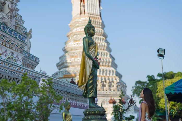 thailand, bangkok, wat arun, temple, buddha
