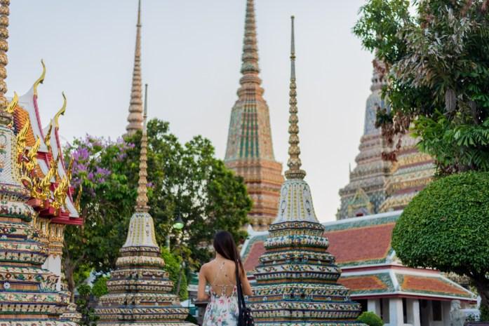 thailand, bangkok, buddha, wat pho, stupa