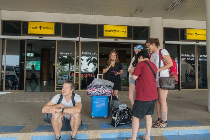 thailand, surat thani, airport