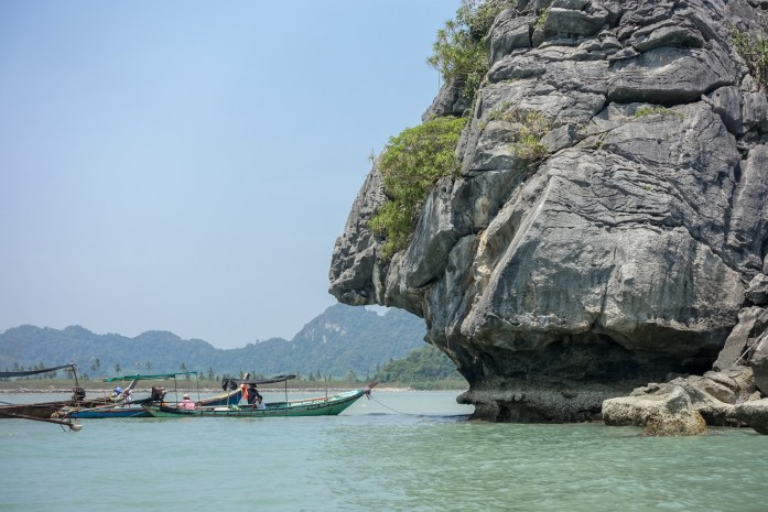 thailand, don sak, surat thani, boat ride, sea, buddha island