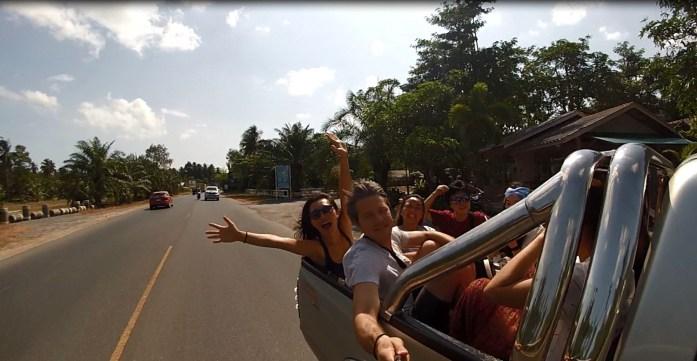 thailand, surat thani, don sak, riding