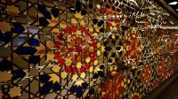 Islamic Patterns in Glass-work