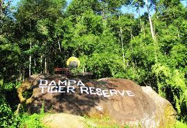 Tourist places to visit in Aizwal, Mizoram dampa, aizwal, mizoram