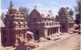 Mamalappuram Monuments, UNESCO World Heritage Site in Kerala, India