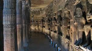 Ajanta Caves, Aurangabad, Maharashtra, India