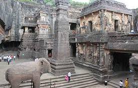 Ellora caves, Aurangabad, Maharashtra, India