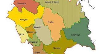 places to visit in Himachal Pradesh - Himachal Pradesh Map