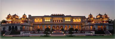 Tourist Places to visit in Jaipur - Rambagh Palace