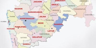 Tourist Places to visit in Maharashtra - Maharashtra Map
