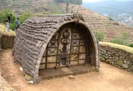 Tourist places to visit in Ooty - Toda Huts