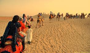 Tourist places to visit in Pushkar - Pushkar Camel Safari