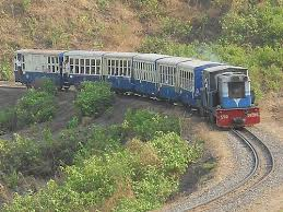 Matheran toy train,