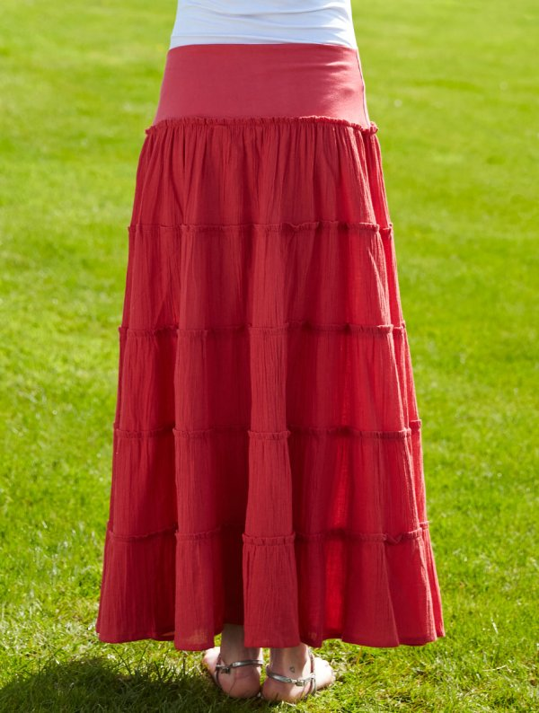 Tiered Skirt - Nomads Clothing