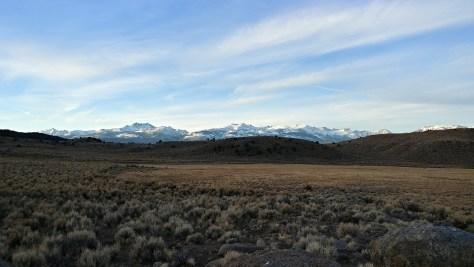 Sierra Nevadas viewed from the east