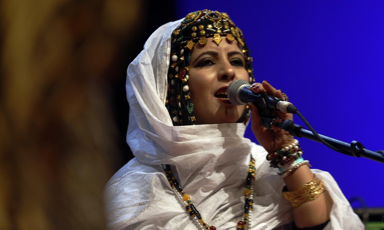 Chanteuse de Batoul El Merouani