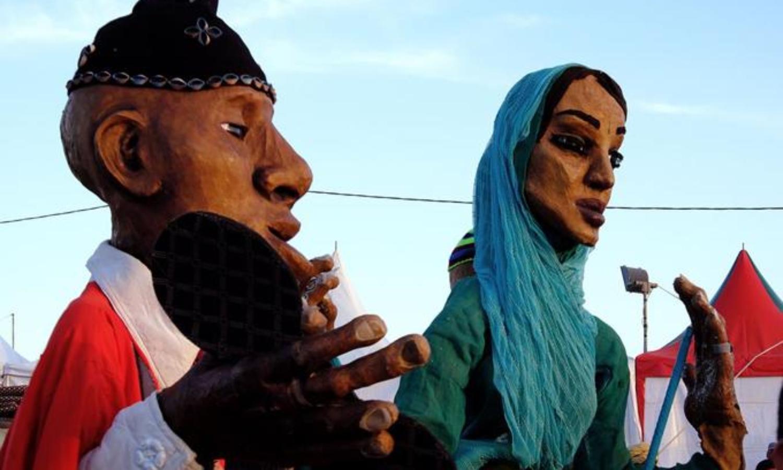 Parade Azalaï – Marionnettes géantes