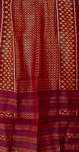 Cambodian Silk Ikat Textiles Wall Hangings Fabric from