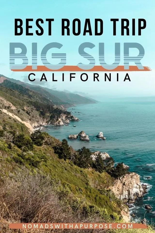 Best Big Sur Road Trip California