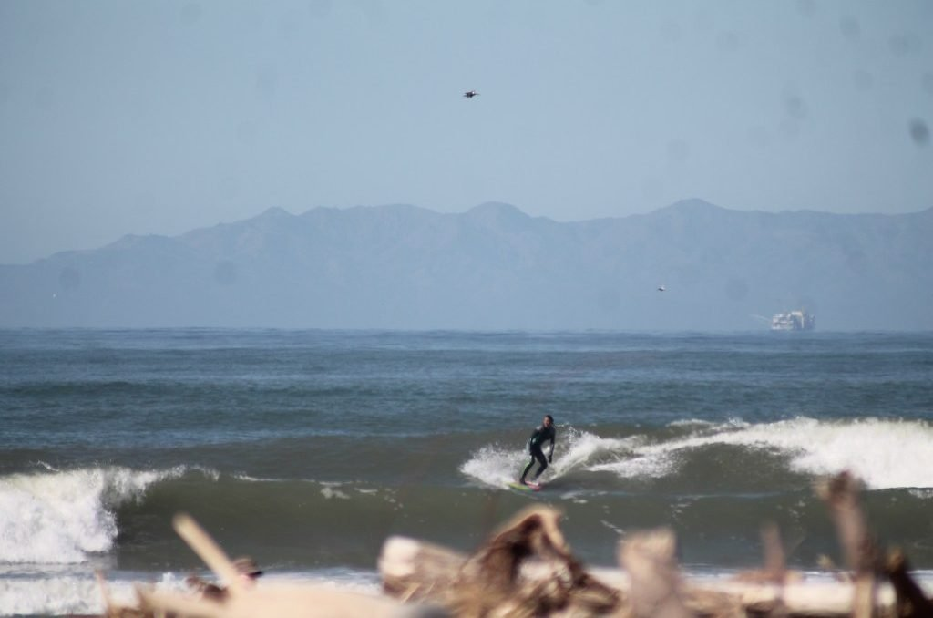 2 week California coast road trip itinerary: Surfing Ventura
