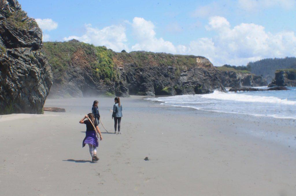 2 week California coast road trip itinerary: Mendocino headlands