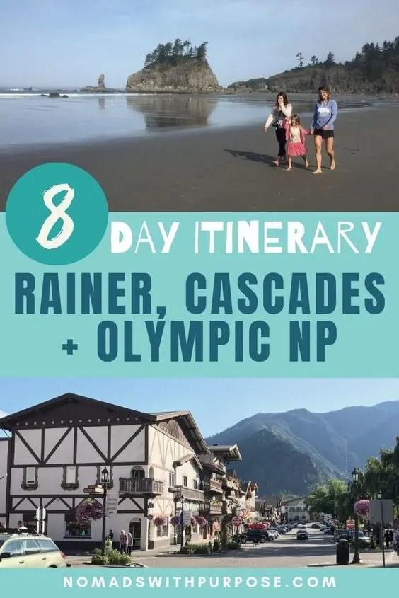 8 day Washington State itinerary