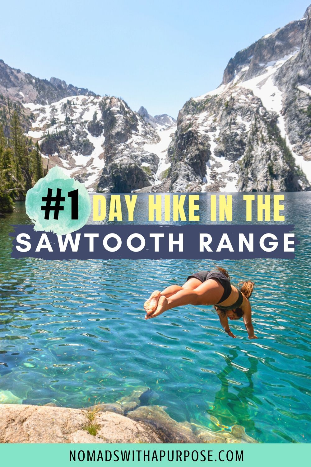 #1 Day Hikes in Sawtooth Mountains