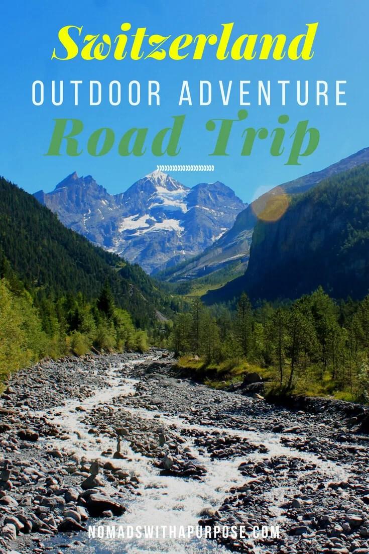 Switzerland road trip