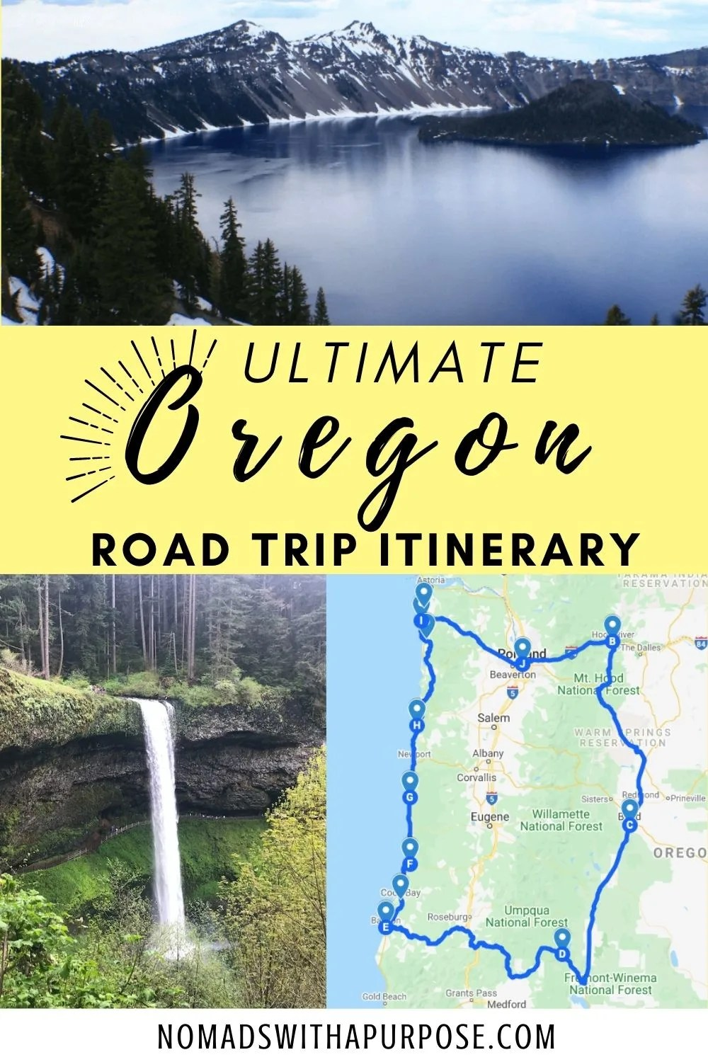 Ultimate Oregon Road Trip Itinerary