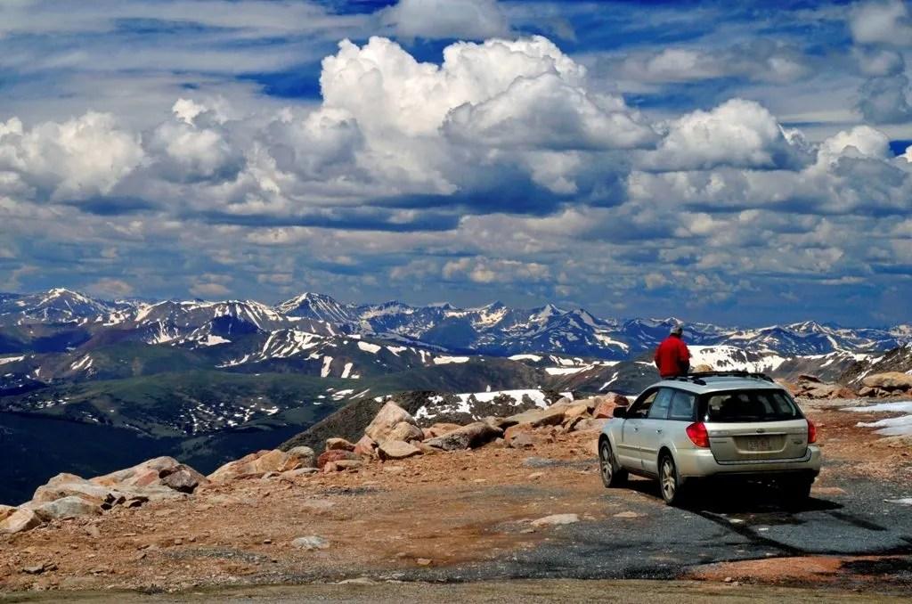 Mount Evans. Colorado Road Trip Itinerary