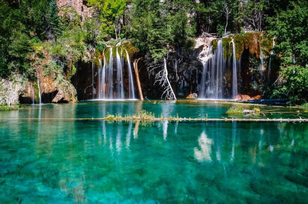 Hanging Lakes. Colorado Road Trip Itinerary