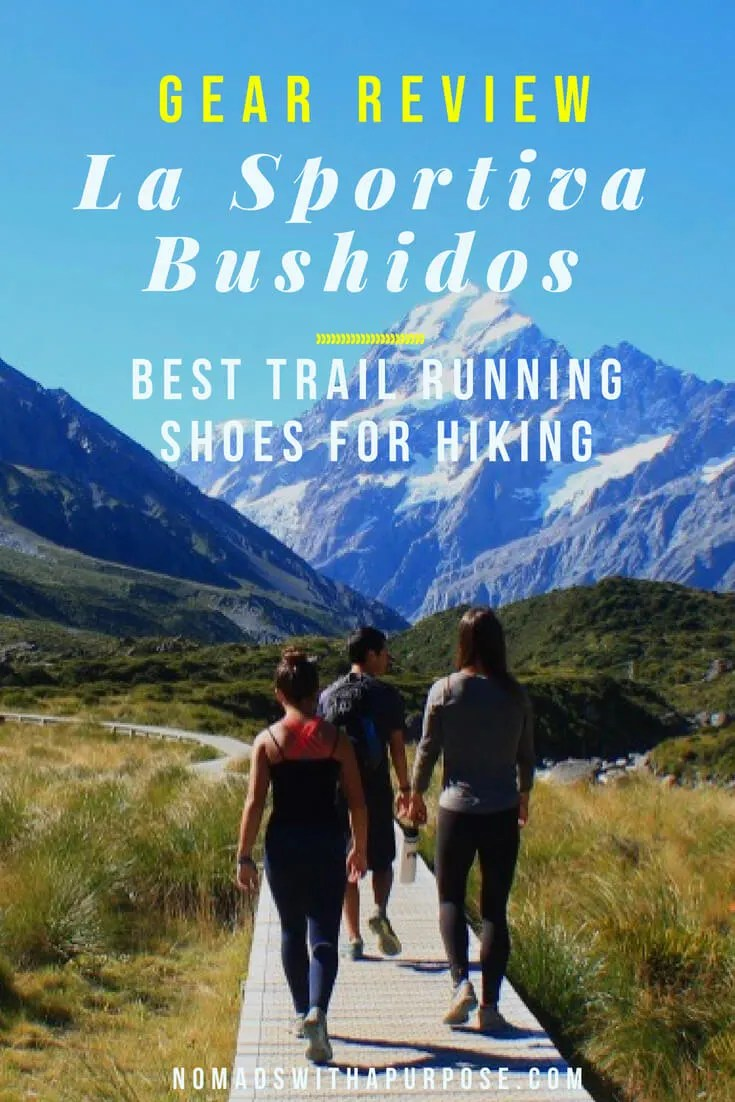 best trail running shoes for hiking: La Sportiva Bushido Review 2