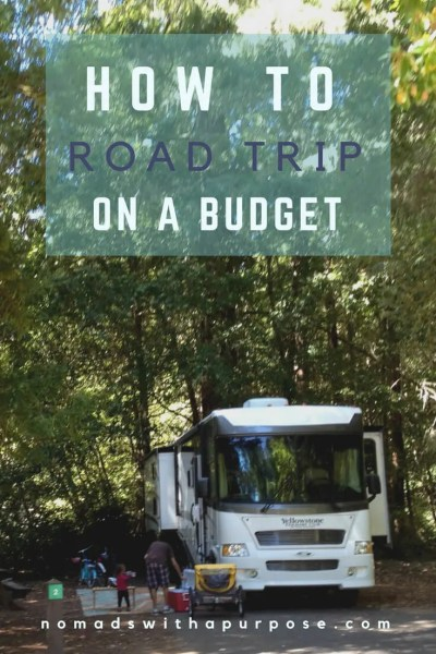 how to road trip on a budget