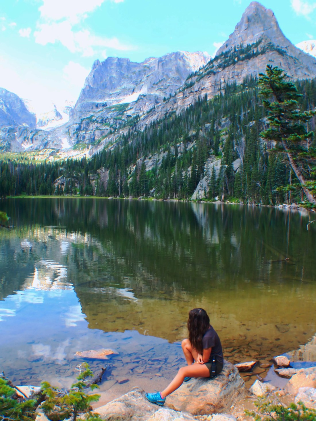 Odessa Lake, Best Day Hikes from Bear Lake in Rocky Mountain National Park + Camping Tips