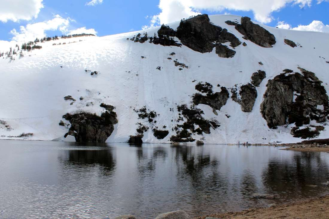 St Mary's Glacier, Colorado Road Trip Itinerary