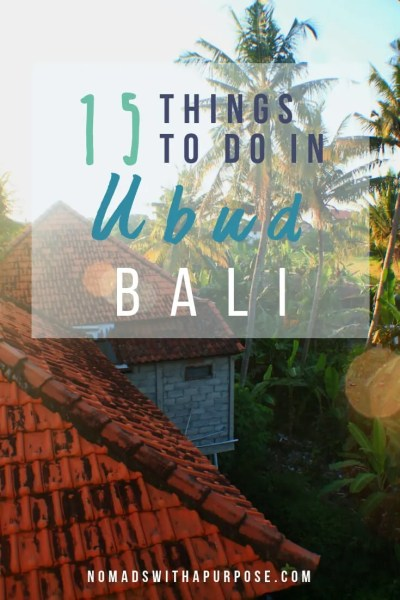 15 things to do in Ubud Bali