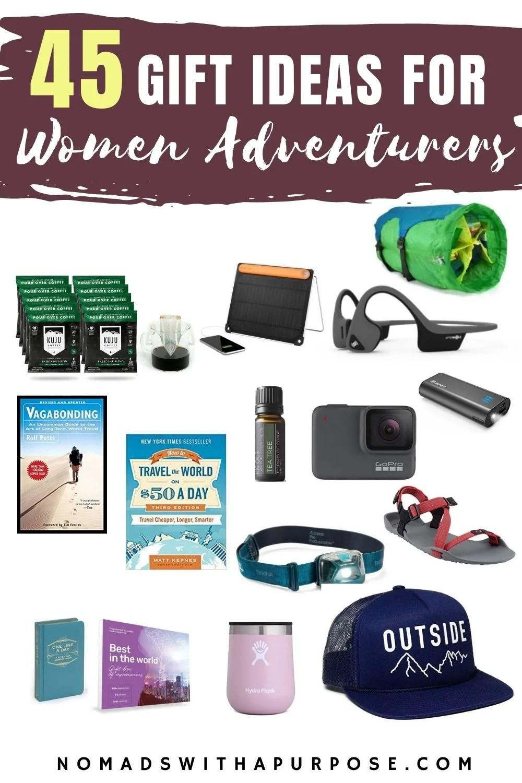 45 Gift Ideas For Women Adventurers