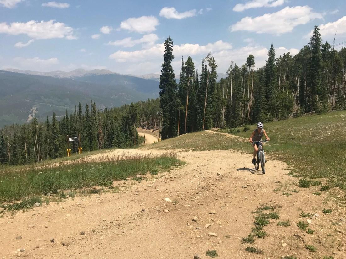 mountain biking on my perfect day