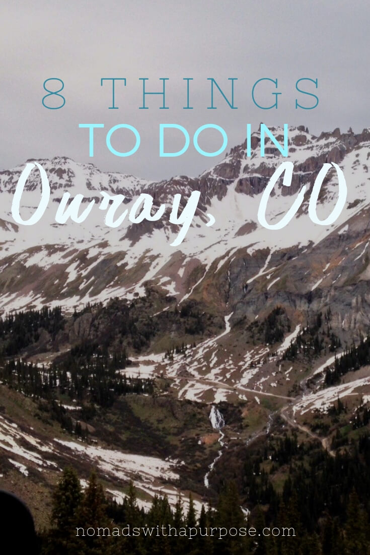 Pin for 8 things to do in Ouray, Colorado