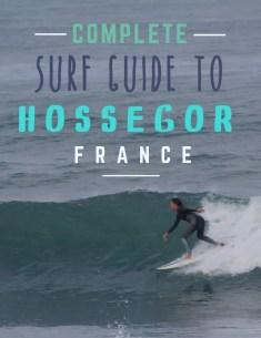 Hossegor surf break guide