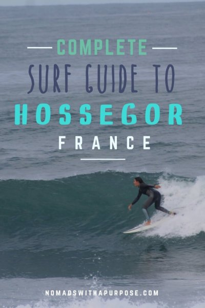 Hossegor surf break guide