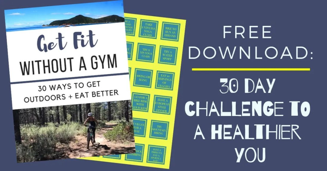 Free download on how to get fit without a gym