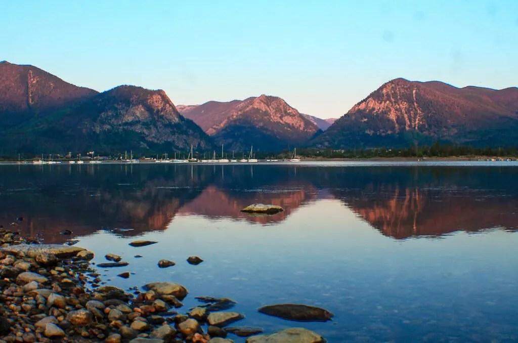 Peak 1 Campground, Colorado Road Trip Itinerary