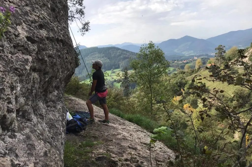 best adventures northern Spain, climbing