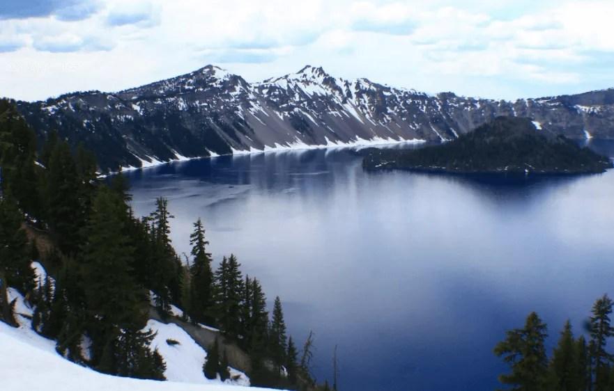 Oregon Road Trip Itinerary Crater Lake, west coast road trip